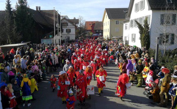 Geplant war der 39. Landesnarrentag am 10. Januar 2021 in Lustenau.VVF