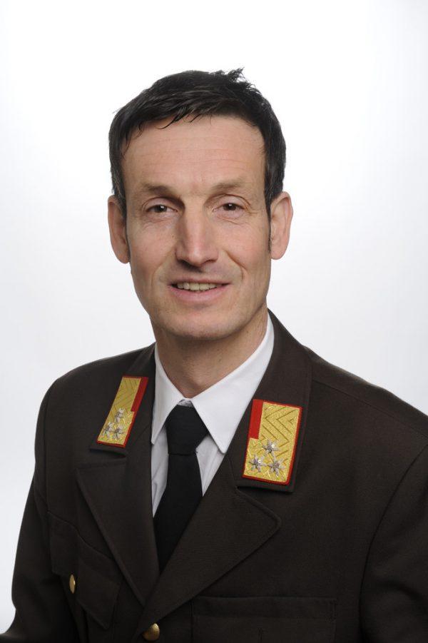 Herbert Österle. Landesfeuerwehrverband