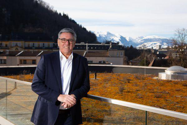 In Feldkirch (Im Bild Bürgermeister Wolfgang Matt) stellt die Volkspartei mit 18 von 36 Sitzen immerhin die Hälfte der Stadtvertreter.Hartinger