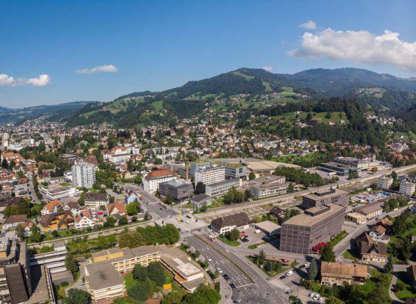In Vorarlberg sind die Bezirke Dornbirn (Bild) und Bludenz betroffen.Hartinger