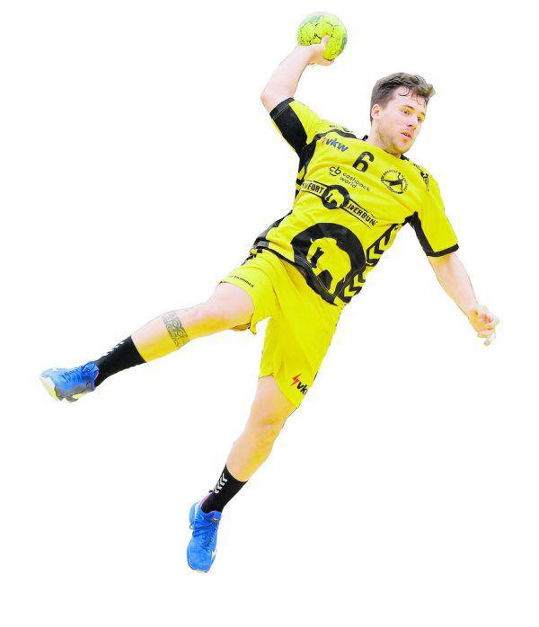 Lukas Frühstück geht in seine 13. Saison in der HLA. Der 29-Jährige spielte dabei immer für Bregenz HB.gepa