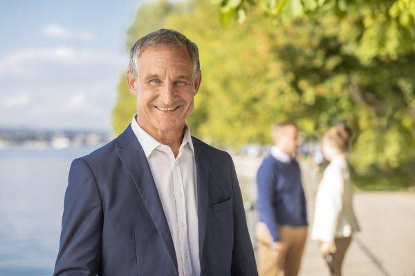 Markus Linhart und sein Nachfolger Michael Ritsch.NEUE