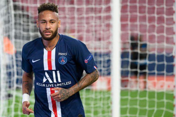 Neymar soll positiv auf Covid-19 sein. apa