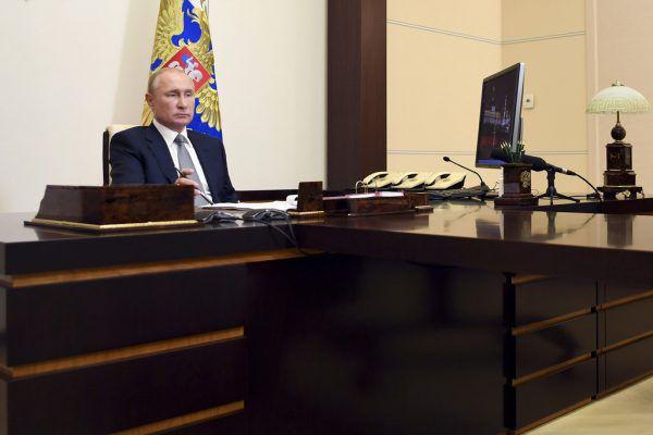 Ob Präsident Wladimir Putin in den Giftmord eingeweiht war, ist ungewiss.Ap