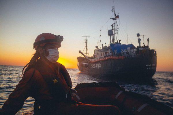 Rettungsorganisationen haben es zunehmend schwerersea-eye.org / AFP