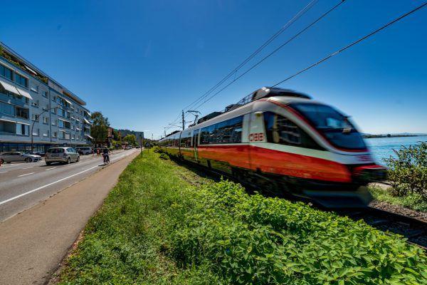 Die eingleisige Führung der Bahnstrecke in Richtung Deutschland reicht laut Ministerin Gewessler jetzt und in Zukunft aus.Stiplovsek