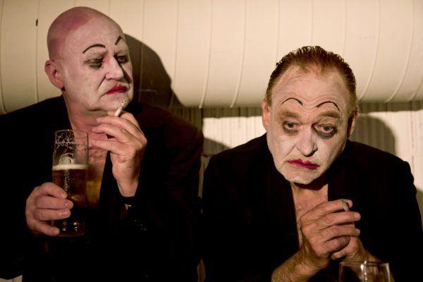 Auch wenn es gut aussieht: Wolfgang Pevestorf (l.) und Robert Kahr werden ohne Schminke auf der Bühne stehen. Caro Stark