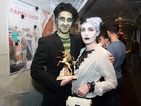 Bei der Horrorkurzfilmnacht 2019. ANna Salcher/alpinale