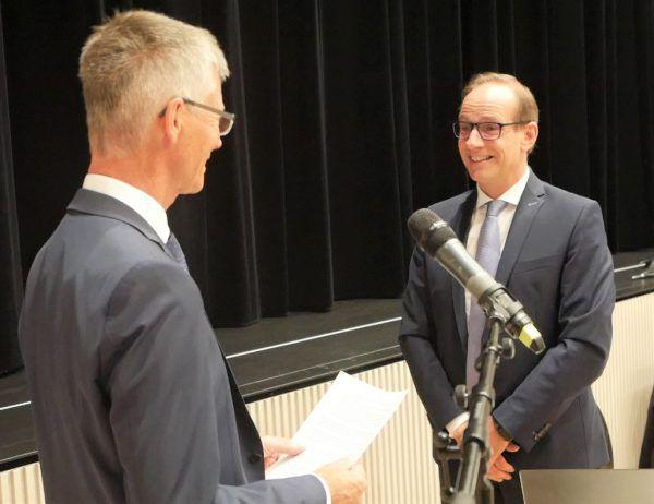 Bürgermeister Dieter Egger (FPÖ). Stadt Hohenems