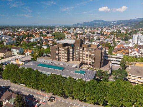 Das Dornbirner Spital wird von der Stadt betrieben.
