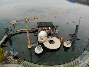 Seebühne: Zusage für Sanierung