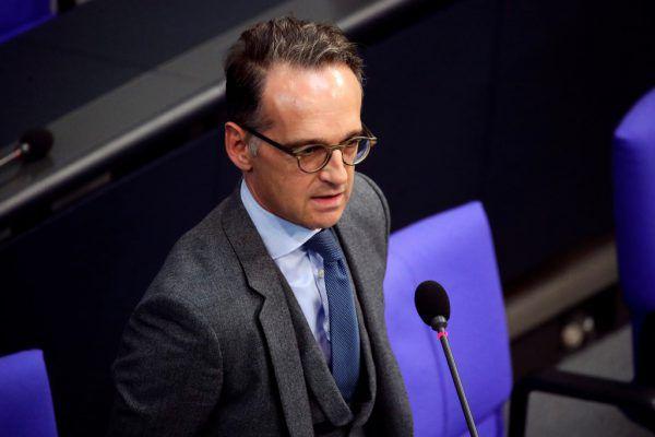 Droht Russland mit Sanktionen: Heiko Maas.Reuters