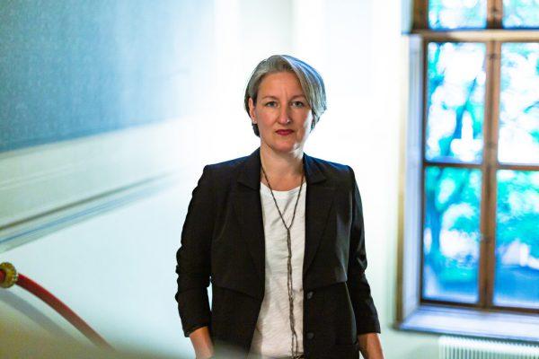 """Mirjam Steinbock sieht die Idee von """"Eintrittstests"""" sehr kritisch. Niklas Koch"""
