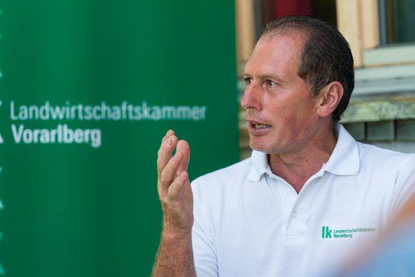 LK-Präsident Moosbrugger wurde im Amt bestätigt.Stiplovsek