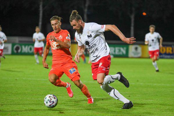 Im letzten direkten Duell gab es einen 5:2-Erfolg für Dornbirn gegen den SV Horn.gepa/lerch
