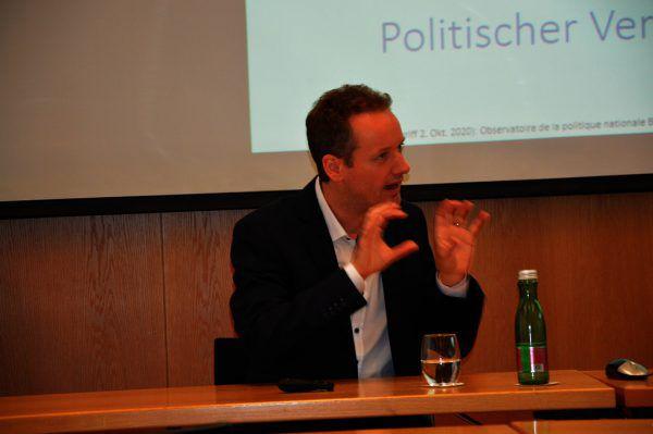 Ökonom David Stadelmann. wkv
