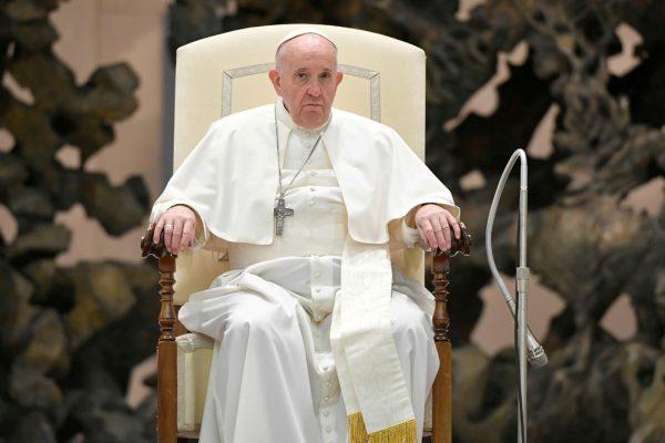 Papst Franziskus überträgt seine wöchentliche Generalaudienz nur noch per Livestream. Reuters