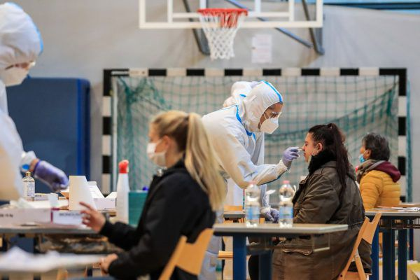 70 Prozent der Bürger haben sich in Südtirol an den Massentests beteiligt.AFP, VLK, Vol.at