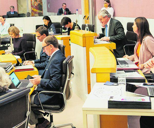 Ab 9 Uhr tagt heute der Vorarlberger Landtag.Land Vorarlberg/Serra