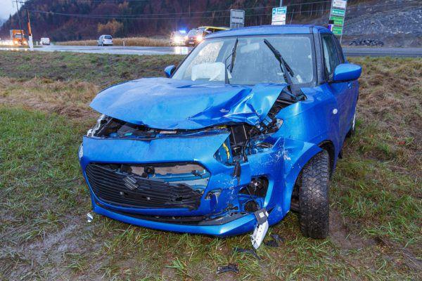 An beiden Fahrzeugen gab es erheblichen Schaden. ©Bernd Hofmeister