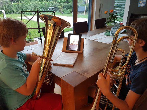 Musikunterricht in Zeiten von Corona. Musikschule Feldkirch