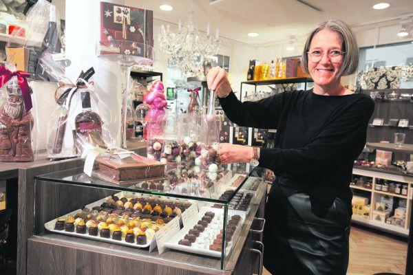 Bettina Egle betreibt Feinkostgeschäfte in Dornbirn und Hohenems.Klaus Hartinger (5)