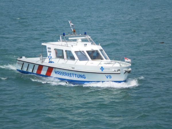 """Das in die Jahre gekommene Rettungsboot V9 """"Aegidius"""" wird ausgemustert.VLK"""