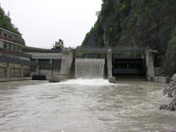 Das Kraftwerk Hochwuhr in der Feldkircher Illschlucht ist im Jahr 2003 in Betrieb gegangen. Stadtwerke feldkirch