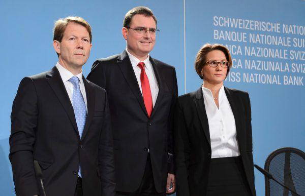 Die Chefin der Schweizer Notenbank: Andrea Maechler. AFP