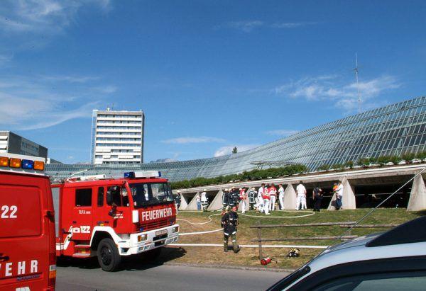 Die Feuerwehr war rasch zur Stelle. NEUE ARCHIV