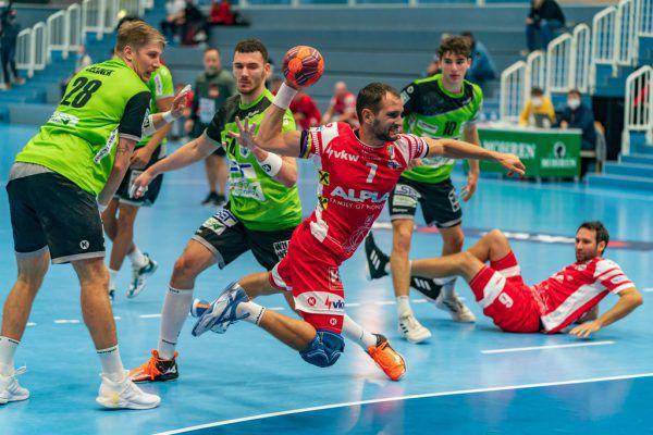 Im letzten Heimspiel gegen West Wien überzeugten die Harder. stiplovsek