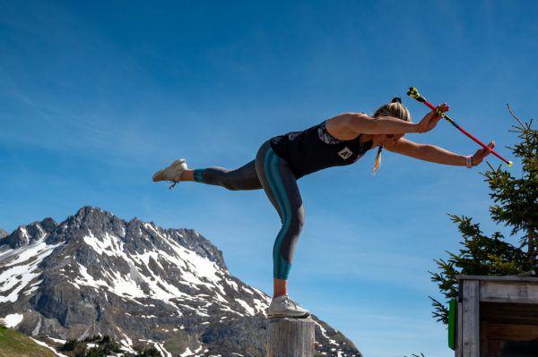 Die Vorbereitung geht für Ortlieb und die Speed-Damen am Samstag endgültig zu Ende. Dann steht der Super-G in St. Moritz an.gepa/lerch (2)