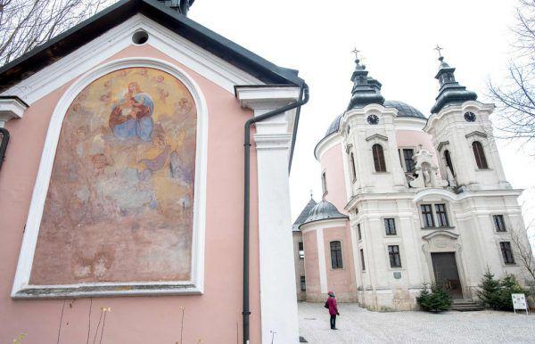 Die Wallfahrtskirche in Steyr-Christkindl. AFP/JOE KLAMAR