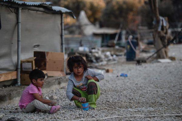 Die Zustände im Flüchtlingslager Moria sind menschenunwürdig. AFP