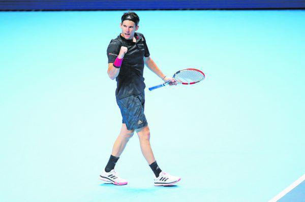 Dominic Thiem schlug in einer hochklassigen Partie Rafael Nadal. GEPA