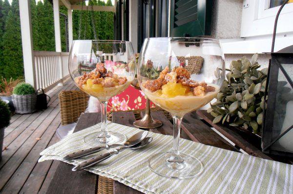 Ein wundervolles Dessert, das Sie gut vorbereiten können.Ulrike Hagen