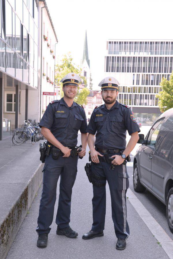 Die Dornbirner Stadtpolizei sucht Mitarbeiter.Polizei