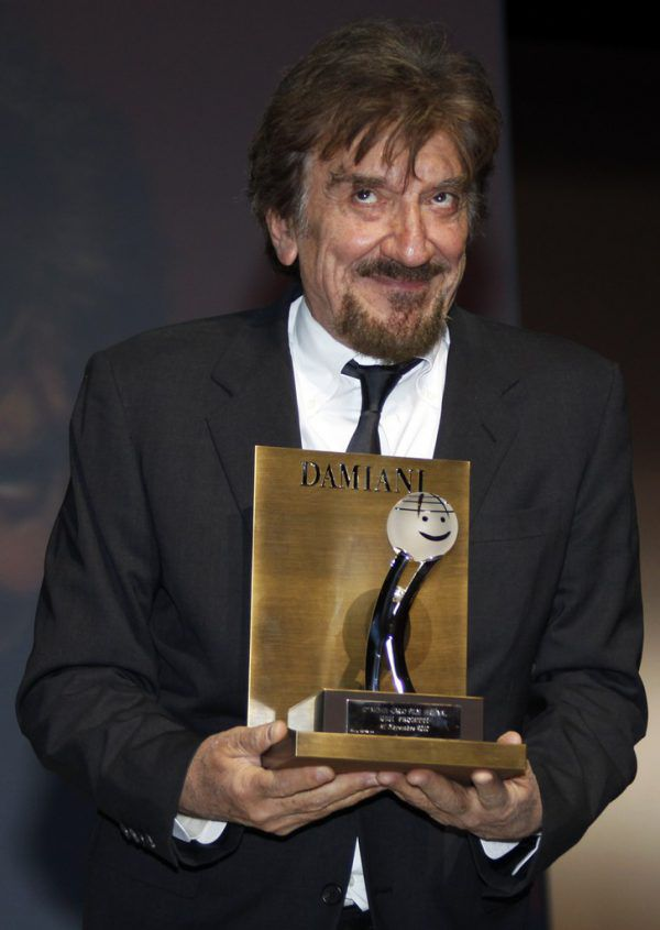 Gigi Proietti im Jahr 2010. Reuters