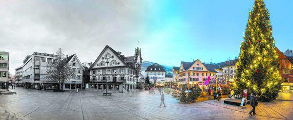 In Dornbirn wie auch in anderen Städten und Gemeinden wurden die Adventmärkte heuer abgesagt.Hartinger/Stiplovsek