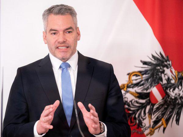 Innenminister Nehammer.APA