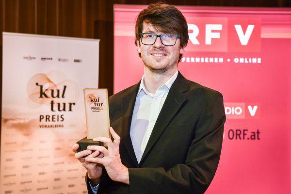 Kulturpreis-Gewinner Amos Postner. Udo Mittelberger