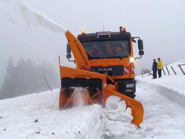 Letzten Winter waren die Schneeräumungskosten gering. VLK