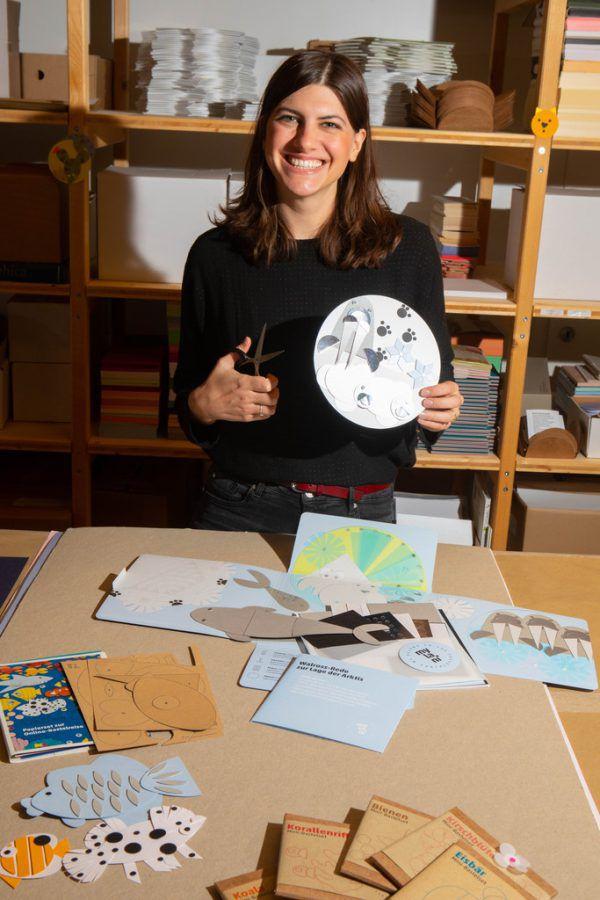 Lydia Neusser hat sich schon immer für Natur und Design interessiert.Klaus Hartinger (6)