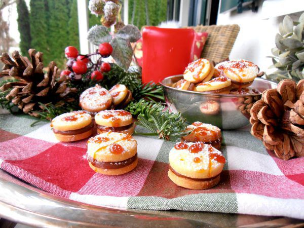 Mit selbstgemachtem Karamell werden diese Kekse zum Genuss.Ulrike Hagen