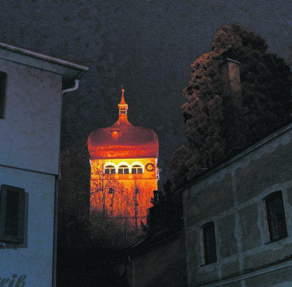 Orange als Zeichen gegen Gewalt an Frauen.Stadt Bregenz