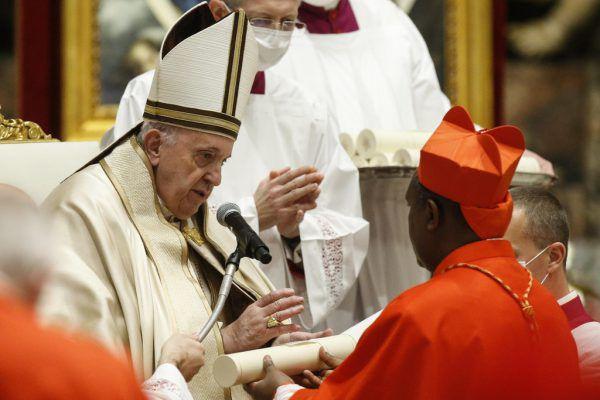 Papst stellte Weichen für den künftigen Kurs der Kirche. AFP