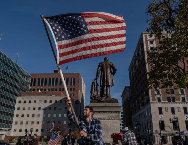 Seit dem Wahltag hat sich in den USA viel getan.AFP (2), Reuters (3), AP (2)