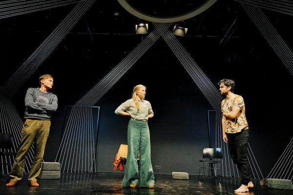 So wird das Stück auf der Bühne aussehen. Anja Köhler