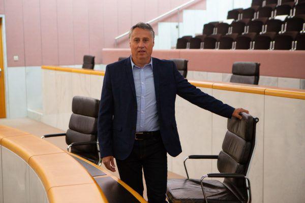 Thomas Hopfner ist seit 28. September designierter SPÖ-Klubobmann im Vorarlberger Landtag. Heute wird er als Landtagsabgeordneter angelobt. Hartinger