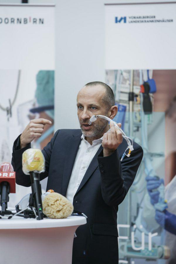 Wolfgang List ist Koordinator für die intensivmedizinische Behandlung von Covid-Patienten.